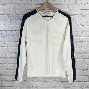 Tommy Hilfiger V-Neck Knit Sweater